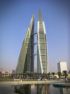 IMAGE BAHRAIN WORLD TRADE CENTER - COPYRIGHT © ATKINS by jmhdezhdez, via Flickr