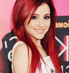 """Cat Valentine from Nickelodeon's """"Sam and Cat,"""" played by Ariana Grande."""