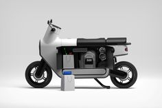 The scooter gets its first radical redesign in nearly a 100 years with an expanded storage chamber | Yanko Design E Scooter, Retro Waves, Yanko Design, Mode Of Transport, Top Cars, Transportation, The 100, Engineering, How To Get