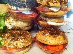 Brooklyn Cafe - So many choices! Original Recipe, Milkshake, Salmon Burgers, Bagel, Brooklyn, Sandwiches, Finland, Ethnic Recipes, Choices