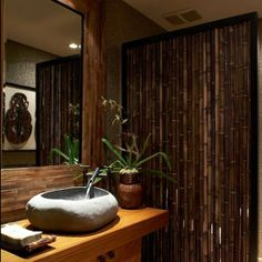 Whether you are into the shabby chic couture or inspired by Asian décor, #speckled #bamboopoles bring a style of decoratingthat balances modern and old world charm. The colors range from dark brown base to light tan and brown spots.