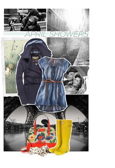 """April Showers Bring May Flowers!"" by cora-the-explorer ❤ liked on Polyvore"