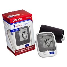 Omron 7 Series Upper Arm Blood Pressure Monitor with Cuff - Fits Standard and Large Arms : Target Healthy Blood Pressure, High Blood Pressure, Fall Lyrics, Monitor, Health Tips, Health Care, Irregular Heartbeat, My Escape