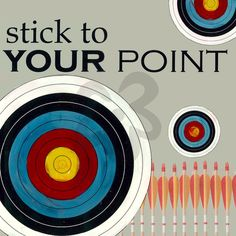 For morgans room! Stick to Your Point - Teen/Tween Canvas Wall Art | Oopsy daisy