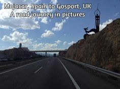 Moajcar to Gosport by road in pictures