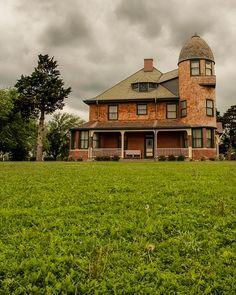Seay Mansion, Kingfisher, Oklahoma, USA