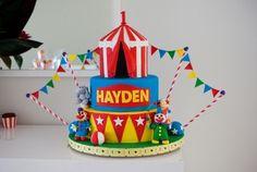 Circus Birthday Cakes - Classic Cakes Sydney