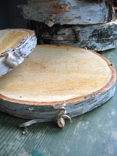 Tree Slabs For Wedding From Rustic Wedding Chic