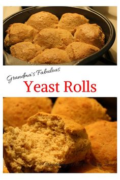 Fabulous Yeast Rolls that are both low carb and low fat