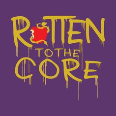 Check Out This Awesome U0027Rotten To The Coreu0027 Design On ...