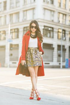 Happy New Year :: Red trench