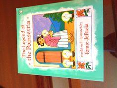 The Legend of the Poinsetta Poinsettia, Legends, Homeschool, Teaching, Cover, Illustration, Holiday, Books, Art