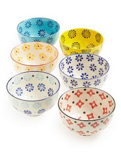 Pretty assortment of bowls