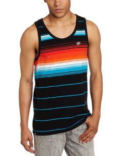 Amazon.com: Southpole Men's Tank Top With Engineered Pin Stripes: Clothing $11.00
