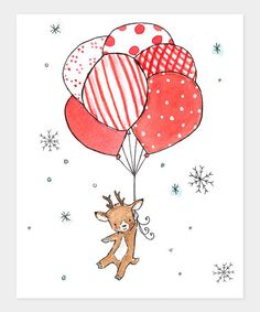 Take a look at this trafalgar's square Baby's First Christmas Print by Cozy Christmas Collection on #zulily today!