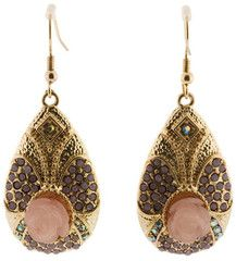 These vintage inspired darlings are talking to me. Are those chocolate diamonds? Oh yea.
