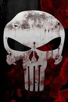 1495 The Punisher Skull Hot Comics Print Art Silk Wall Poster Daredevil Punisher, Logo Punisher, Punisher Skull Tattoo, Punisher Symbol, Comic Book Characters, Comic Character, Comic Books Art, Comic Art, Deadpool Character