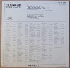 The Renegades (3) - Lettere D'Amore