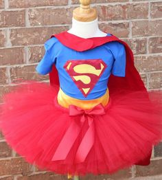 88 of the Best DIY No-Sew Tutu Costumes - DIY for Life Super Man