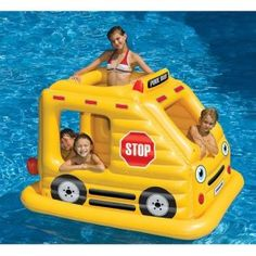 Inflatable bus