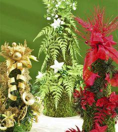 Trio of Christmas TreesTrio of Christmas Trees