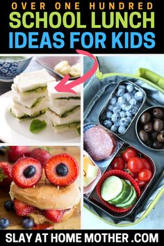 These healthy school lunch ideas for kids are cute, fun, and super easy to put together on busy weekday mornings! These school lunches are great for picky eaters too because of how creative they are. Check out these make ahead lunchbox ideas for the best back to school year ever... #backtoschool #schoolunch #schoollunches #pickyeaters #parenting #toddlers #school #lunchideas #lunch #snacks #kids   www.SLAYathomemother.com Healthy Lunchbox Snacks, Healthy Toddler Meals, Lunchbox Ideas, Lunch Snacks, Snacks Kids, Toddler Food, Lunch Box, Easy Lunches For Kids, Healthy School Lunches