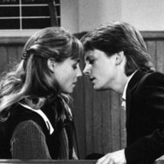 Alex Keaton and Ellen Reed