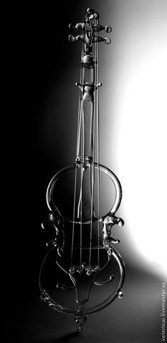 "Fair Masters - handmade Figurine ""Violin"".  Handmade. - Andrey Ivanov"