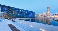 Museum of European and Mediterranean Civilisations (MuCEM) by Rudy Ricciotti | Marseille, France