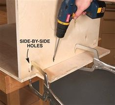 AW Extra 7/5/12 - Tips for Building Cabinets with Pocket-Hole Joinery - Woodworking Techniques - American Woodworker