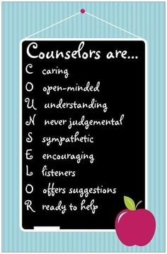 Counselors are...