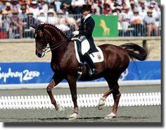 Isabel Werth y Gigolo !! Still my favorite Olympic duo!