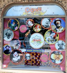 International Clown Hall of Fame and Research Center in Baraboo American Pickers, Research Centre, Travel, Viajes, Destinations, Traveling, Trips