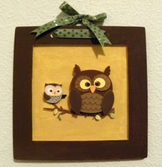 Nursery owl - someone make this for me please! (if I have a boy, that is)