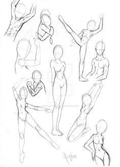Resultado de imagen para body poses of BOYS WITH POWER DRAWINGS