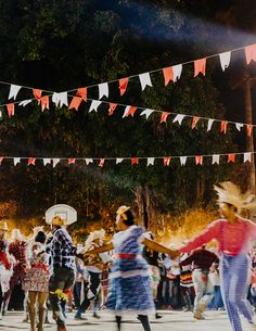 "During festival season in Paraty, Brazil, the town square is where the party happens. To dance the ""ciranda"", let the beat take over and grab hold of anyone's hand.  There's so much magic to uncover in Brazil. Stay in unique Airbnb homes in not yet trending destinations like Paraty."
