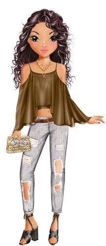 TOPModel Art Deco Fashion, Girl Fashion, Womens Fashion, Fashion Design, Glamour, Emoji People, Moda Chic, Illustration Mode, Model Look