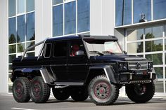 Brabus G-Wagen 6 X 6 G63 AMG 6x6