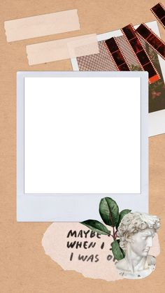 -Pin by Hicrete Dilmen Photo Collage Template, Picture Templates, Creative Instagram Stories, Instagram Story Ideas, Polaroid Picture Frame, Instagram Frame Template, Instagram Background, Collage Background, Picsart