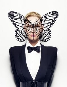 Craig McDean: Uma Thurman. Monarch mind control MK Ultra symbolism