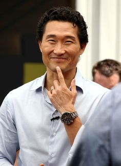 daniel dae kim - Lost - I love his smile!