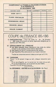 Calendrier 1985-1986 - 2ème Division - Page 18
