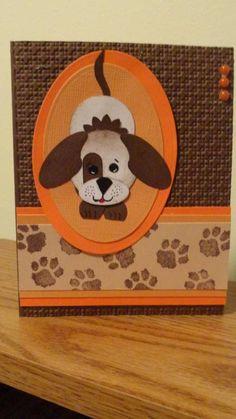 Puppy love by damommma - Cards and Paper Crafts at Splitcoaststampers- have to make for the pup