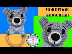 Patrigurumis: 🐻MORDEDOR OSITO AMIGURUMI🐻 - CROCHET - FÁCIL🐻🐻 Crochet Bebe, Crochet Patterns, Youtube, Teddy Bear, Diy, Crafts, Animals, Shiva, Blog