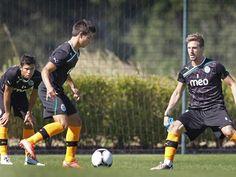 "Sporting Clube de Portugal - ""School of Football"". André Martins; Cédric Soares; Adrien Silva"