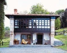Casas de estilo rústico - I