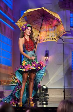 Miss Colombia - National Costume