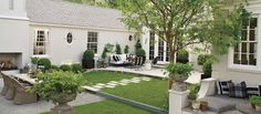 Haus Design- Benjamin Moore paints Revere Pewter and Dove White