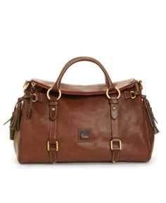 Dooney & Bourke Handbag, Florentine Vaccheta Satchel AKA only D bag to ever catch my attention
