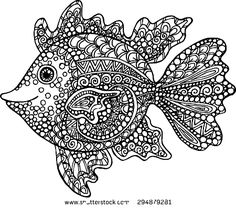 But Here Is An Easy Way To Keep Him Happily Busy By Giving These Free Printable Exotic Fish Coloring Page From Aquarium The Sea